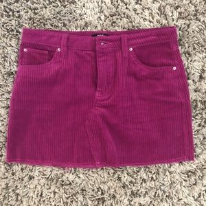 BDG CORDUROY MINI SKIRT M